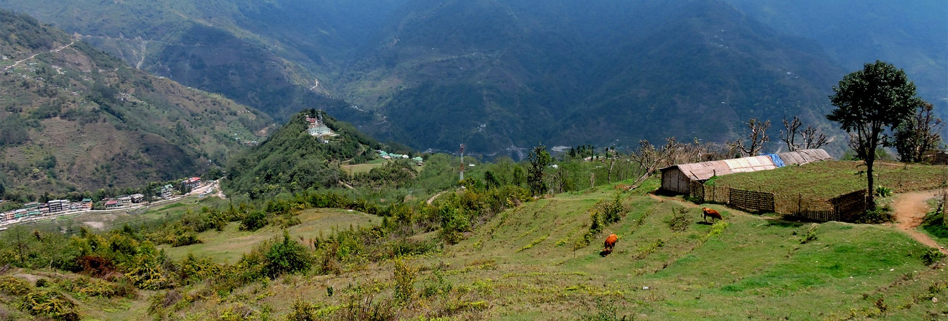 Kaluk sikkim a place known for peace and serenity